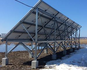 産業用太陽光発電 北海道 浜中町