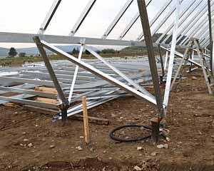 西留辺蘂 太陽光メガソーラー設置